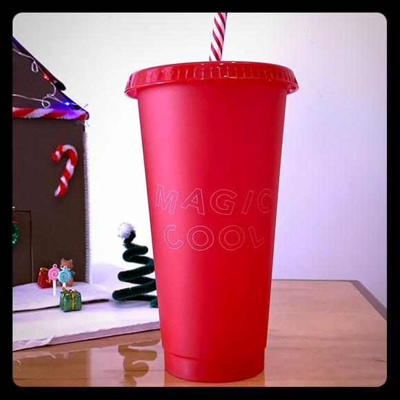 Starbucks Dining Magic Cool Reusable Cold Cup Poshmark